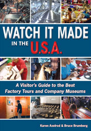 Image of Watch It Made in the USA book cover.